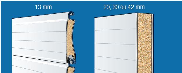 Dossier Porte Garage Aluminium Double Paroi