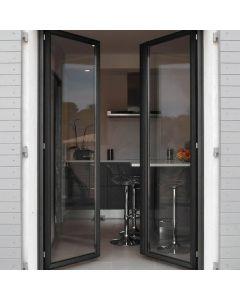 La fenêtre en aluminium sur mesure Osmium, la solidité, l'isolation et l'esthétique. Installé par monsieur store Aix en provence